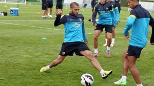 Dani Alves trenował z grupą