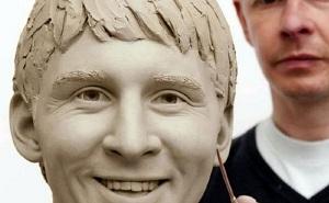 Messi w Muzeum Madame Tussaud
