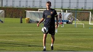 Tito Vilanova wraca na ostatni trening