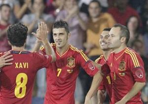 Manita w wykonaniu Hiszpanii