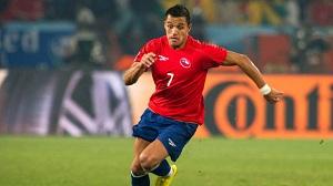Chile przegrywa z Kolumbią