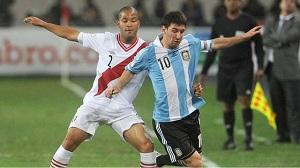 Argentyna remisuje z Peru