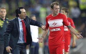 Emery: Postaramy się zmniejszyć posiadanie u Barçy