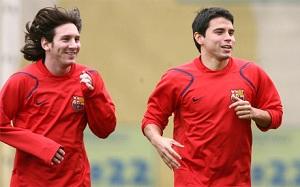 Saviola: Nikt nie gra, jak Messi