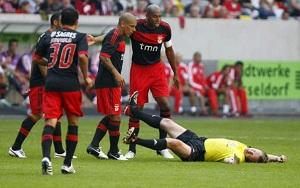 Luisao (Benfica) nie zagra z Barçą