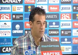 Konferencja prasowa trenera Getafe