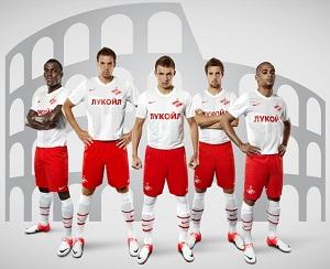 Kadra Spartaka Moskwa na mecz z FC Barceloną