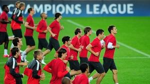 Spartak Moskwa trenował na Camp Nou