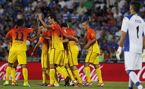 Barça ma najlepszy start w lidze