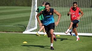 Sergio Busquets nie trenował z drużyną