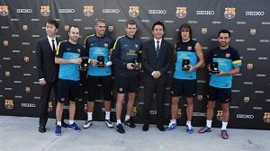 Seiko z prezentami dla FC Barcelony