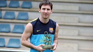 Trzecie Onze d'Or dla Messiego