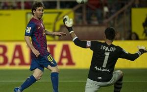 Messi lubi Sánchez Pizjuán