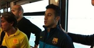 Piłkarze są już w Sewilli