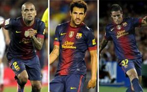 Fàbregas, Alves i Tello, czyli powroty na Valencię