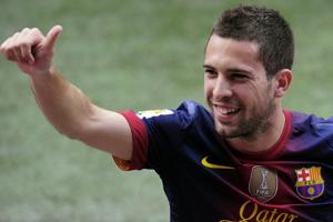 Jordi Alba po raz pierwszy zagra przeciwko Valencii