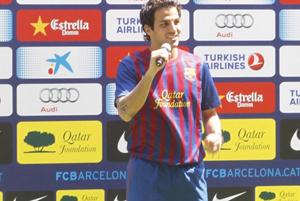 Lato 2011: Fàbregas wraca do domu