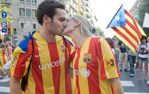 Villarrubí chce koszulek w barwach senyery