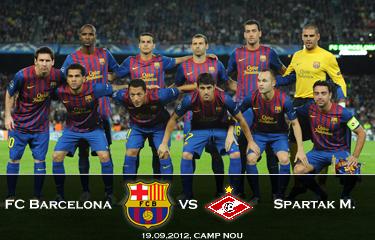 Liga Mistrzów powraca: Zapowiedź meczu FC Barcelona – Spartak Moskwa