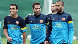 Jordi Alba trenuje już z zespołem