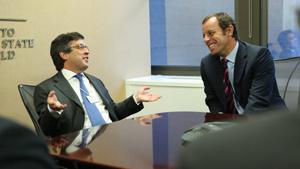 Sandro Rosell z wizytami w Nowym Jorku