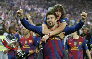 Puyol, Piqué i Iniesta szykują się na Gran Derbi