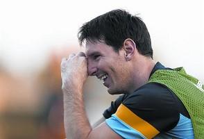 Messi: Nie wiem, jak się zachowywać, gdy będę ojcem