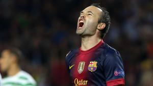 Barça nie przegrywa, gdy Iniesta strzela