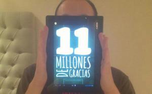 Andrés Iniesta dziękuje 11 milionom fanów