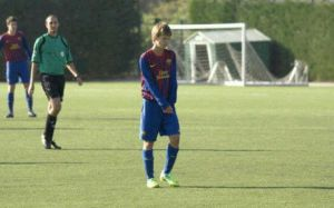 Następca Messiego gra w Cadete B