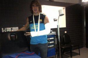 Puyol pracuje nad powrotem do zdrowia i nowym kontraktem