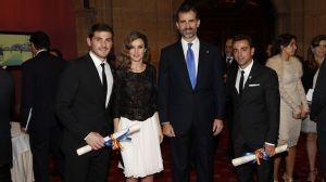 Xavi odebrał nagrodę Księcia Asturii