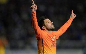 Villa błyszczy również w Copa del Rey
