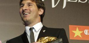 Messi otrzyma nagrodę Złotego Buta 29 października