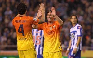 Doskonały wieczór Fàbregasa