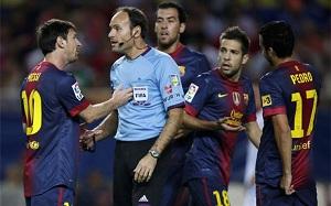 Mateu Lahoz broni się….a Rafa Guerrero krytykuje Barçę