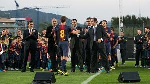 Rezerwy FC Barcelony oraz zespoły akademii zaprezentowane