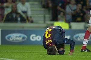Kontuzje, poważny problem Barcelony