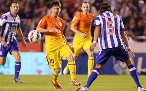 Jordi Alba otwiera wynik na Riazor