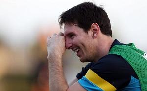 Messi: Moje szczęście jest w Barçy