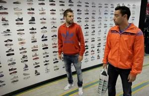 Xavi i Alba w kampanii Adidasa