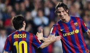 Ibrahimović:  Leo Messi nie powinien wygrać Złotej Piłki