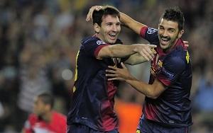 Messi strzela lub asystuje w każdym spotkaniu
