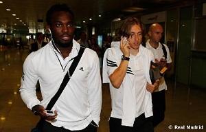 Piłkarze Realu Madryt są już w Barcelonie