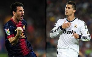 Messi pierwszy, Cristiano czwarty
