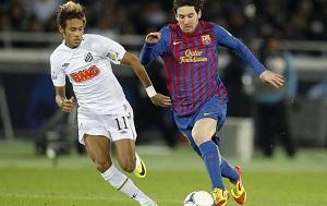 Messi i Neymar na czele
