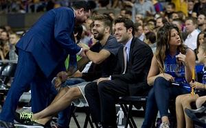 Piqué świadkiem najlepszego wydania koszykówki