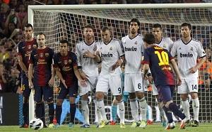 Messi, Sergio, Pedro, Iniesta,