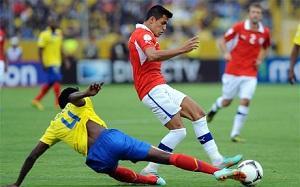 Chile przegrało z Ekwadorem