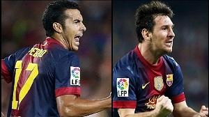 Pedro i Messi – gwiazdy w swoich krajach